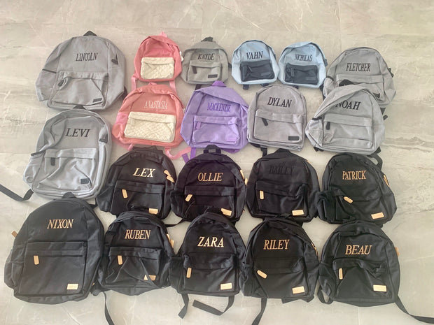 Pre-Made Backpacks