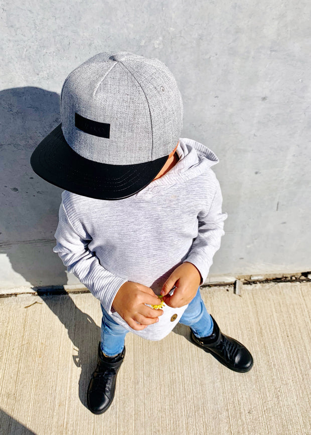 CRUZ + CO. Toddler Flat Brim