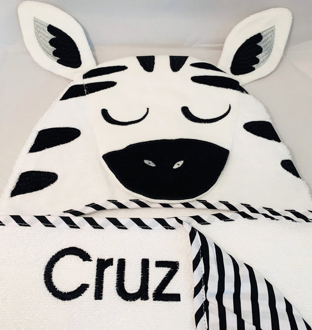 Novelty Personalised Hooded Bath Towel