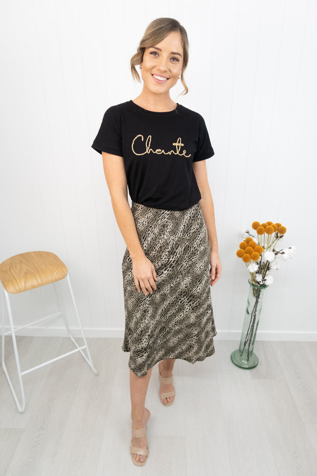 Hailey Skirt -Khaki