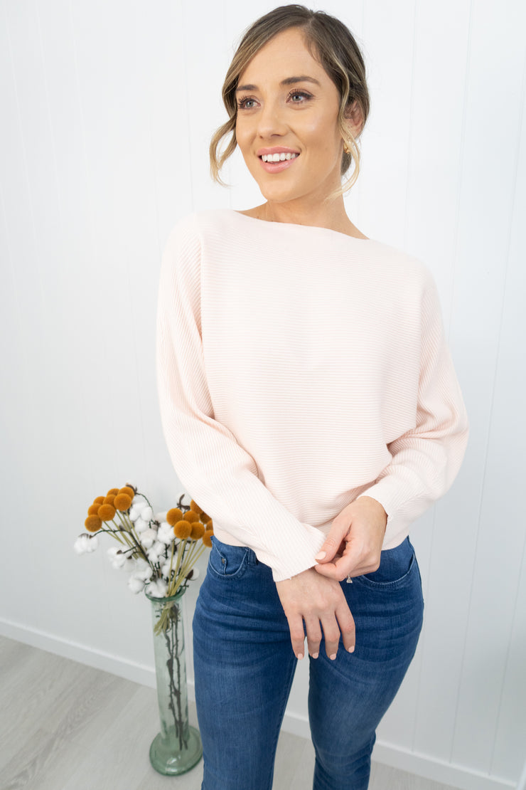 Isla Top -Blush