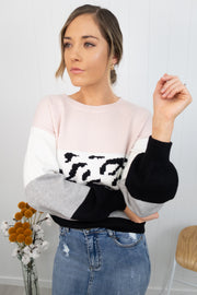 Darby Knit -Blush