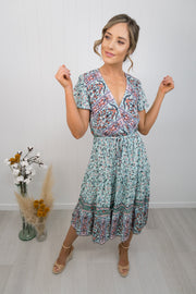 Lacey Dress -Mint