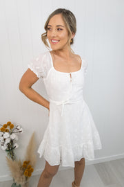 Jayla Dress -White