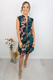 Rosie Dress -Green