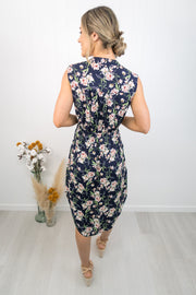 Frankie Dress -Navy