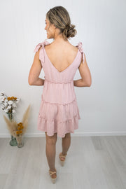 Breeze Dress -Blush