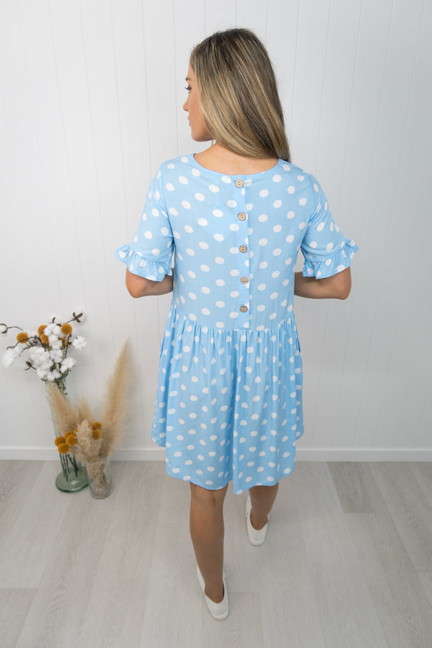 Betty Dress -Blue