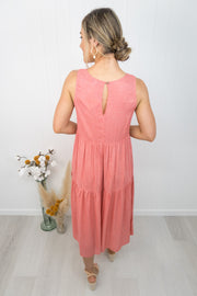 Nova Dress -Watermelon