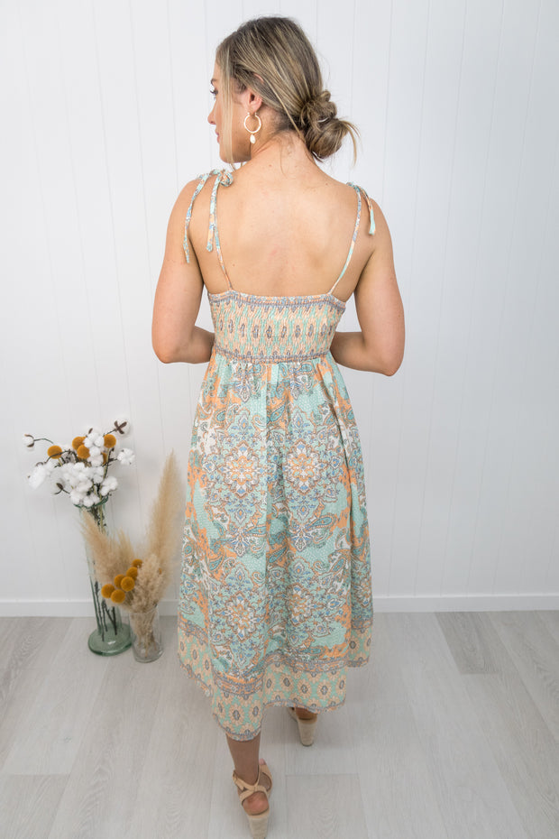 Bianca Dress -Paisley
