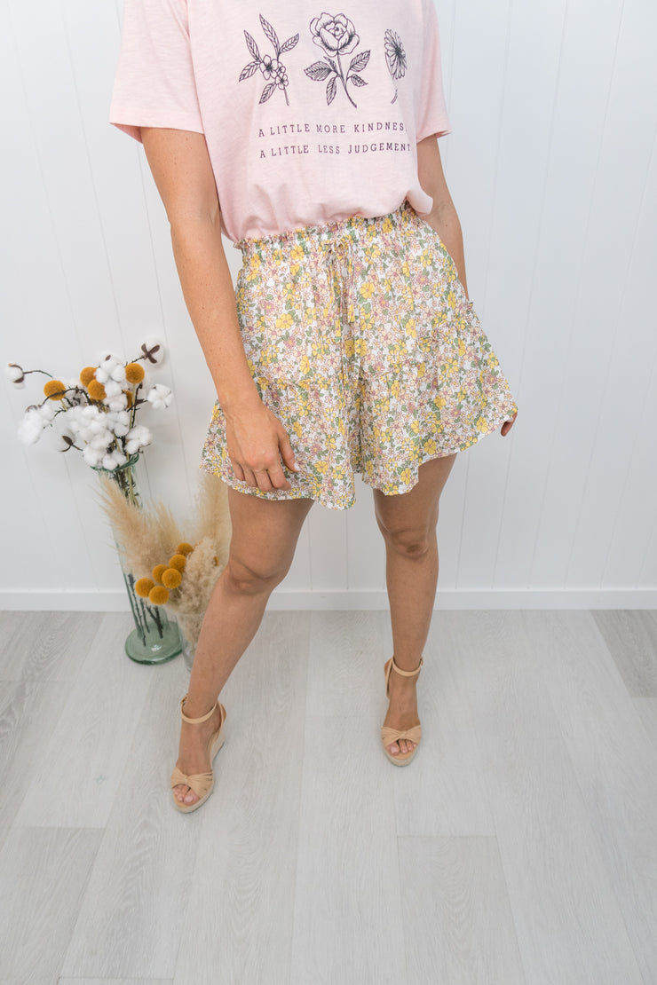 Lexie Shorts -Floral