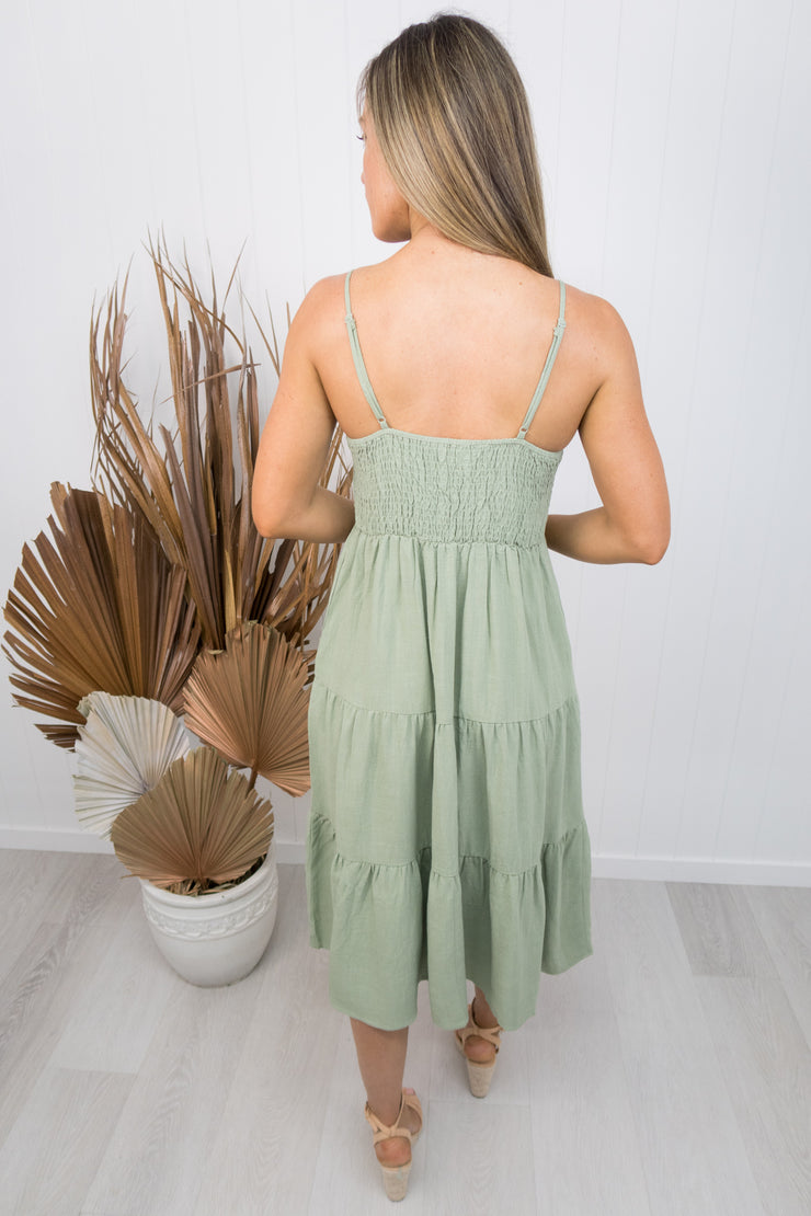 Kate Dress -Khaki