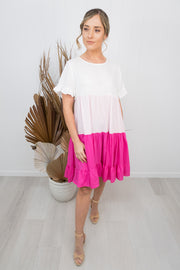 Melissa Dress - Pink