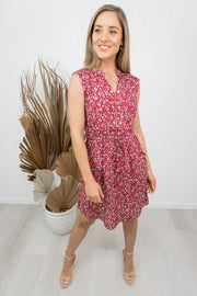 Rosie Dress -Red