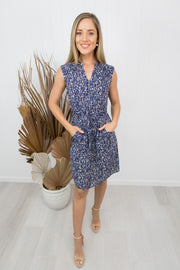Rosie Dress -Navy