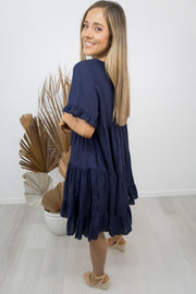 Heather Dress - Navy