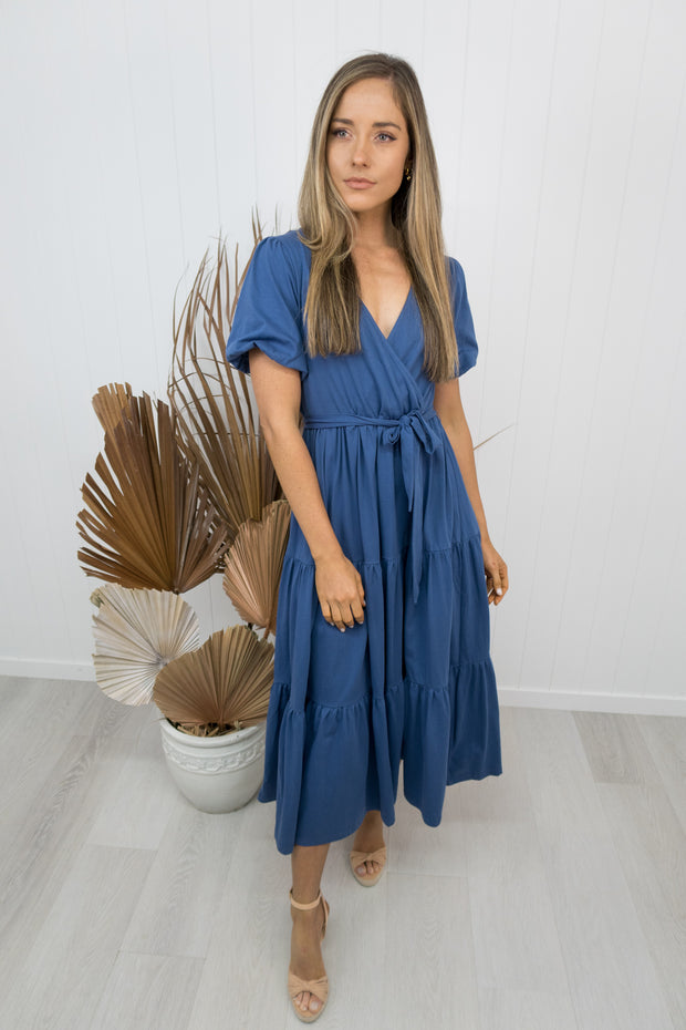 Annabelle Dress -Navy/ blue