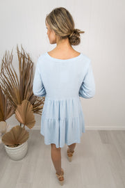 Haven Dress -Light blue