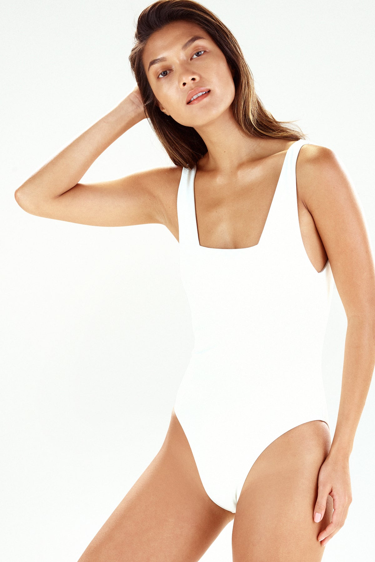 Lisbon one piece swimsuit in cream