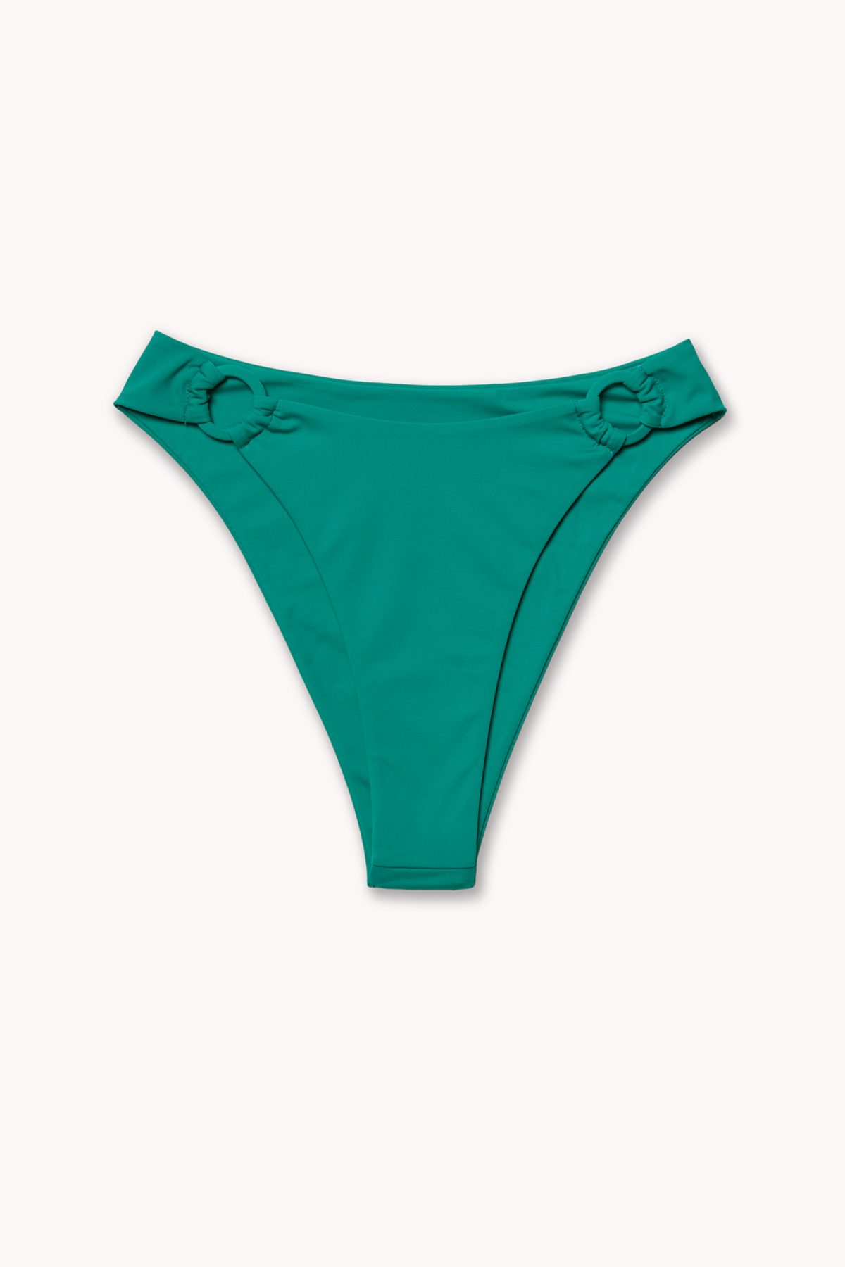 E-comm shot of green Monaco bikini bottom by Ookioh