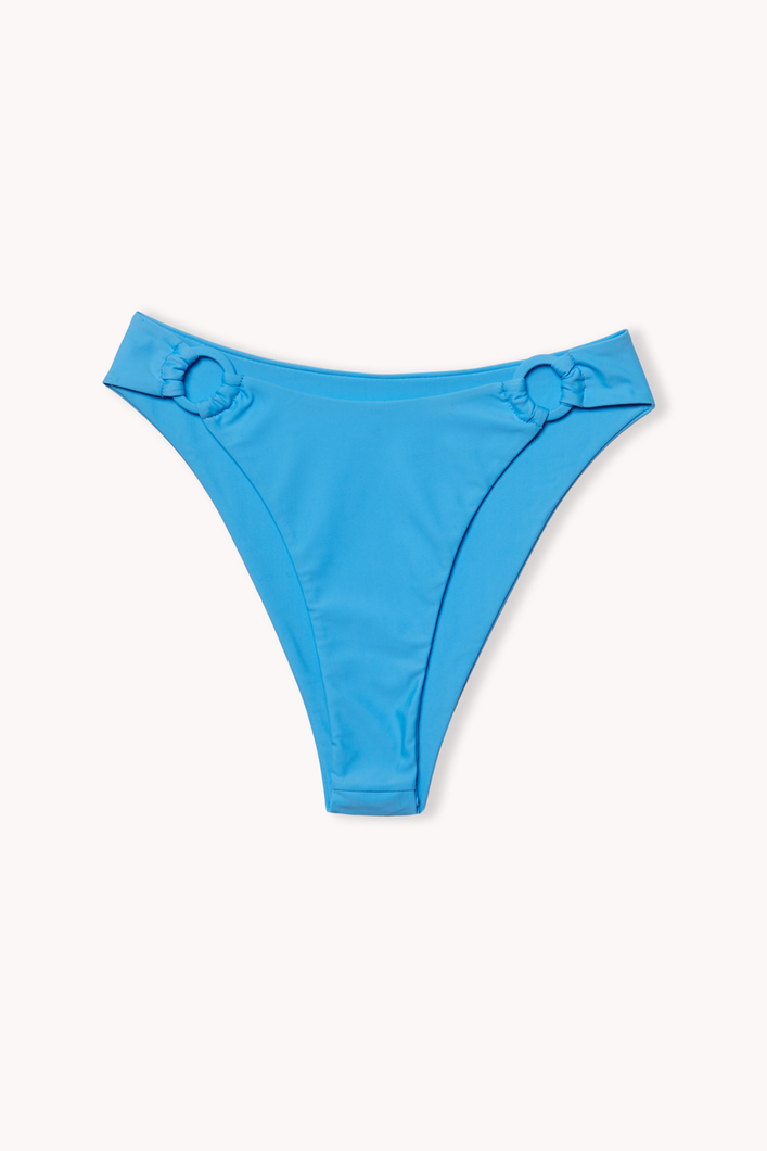 E-comm shot of flag blue Monaco bikini bottom by Ookioh