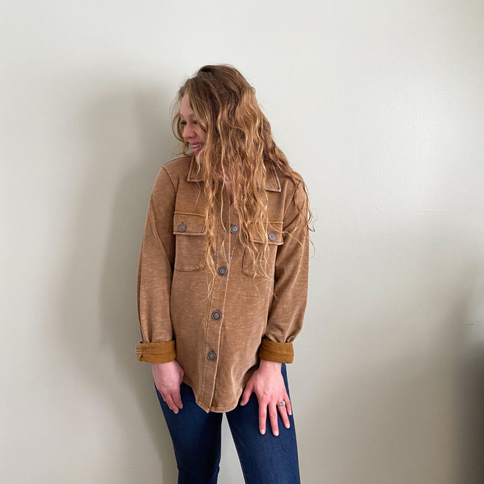 [restocked] Maude shirt jacket