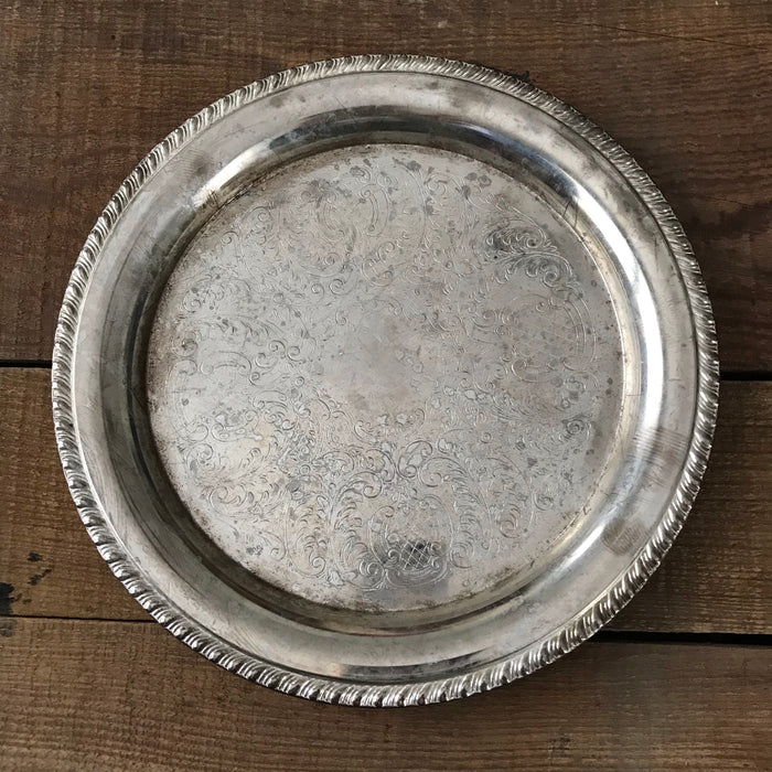 Sue's Sterling Platter