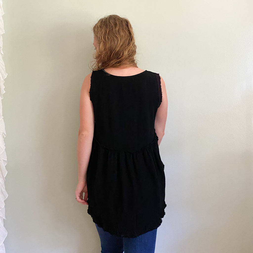 Indy II Effortless tank black