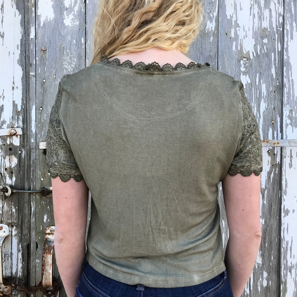 Verdant Tee, Top, - Refined Peddler Apparel
