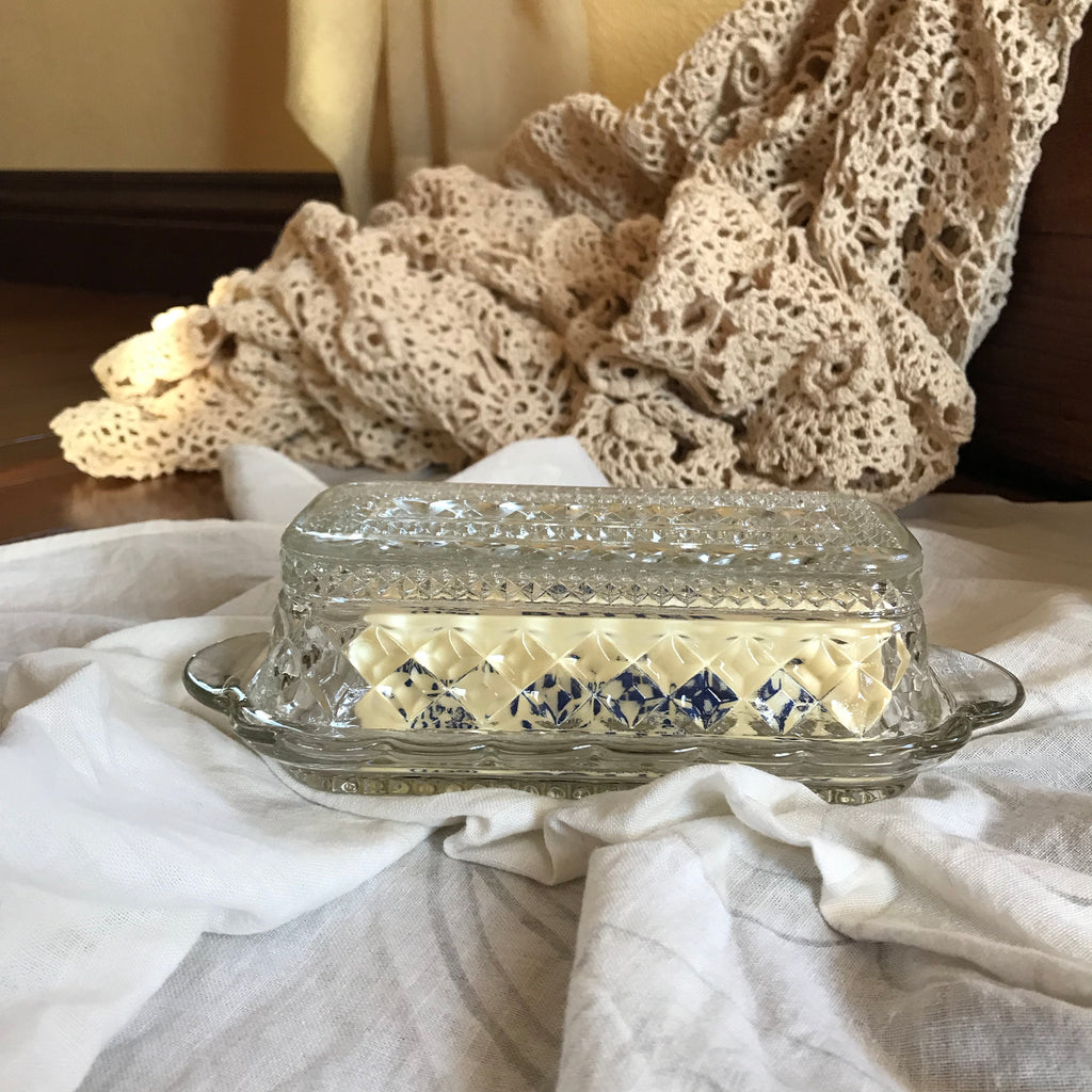 Farmhouse butter dish, kitchen, - Refined Peddler Apparel