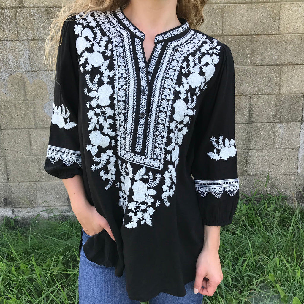 elim embroidered blouse