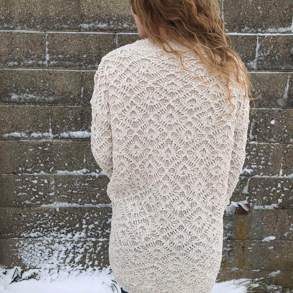 Mabel Lace sweater