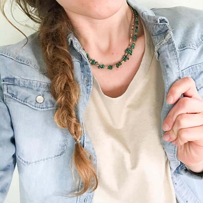Mission turquoise necklace