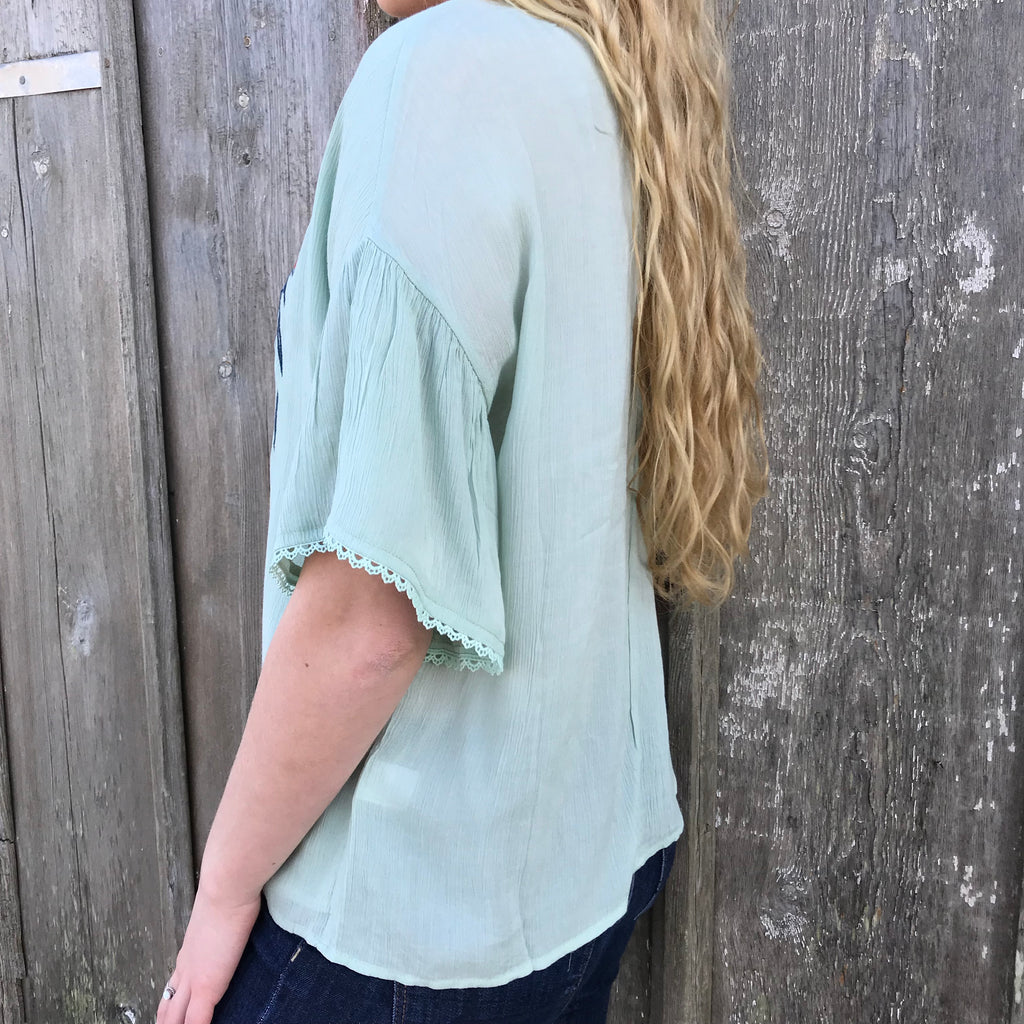 The Tucson Top, Blouse, - Refined Peddler Apparel
