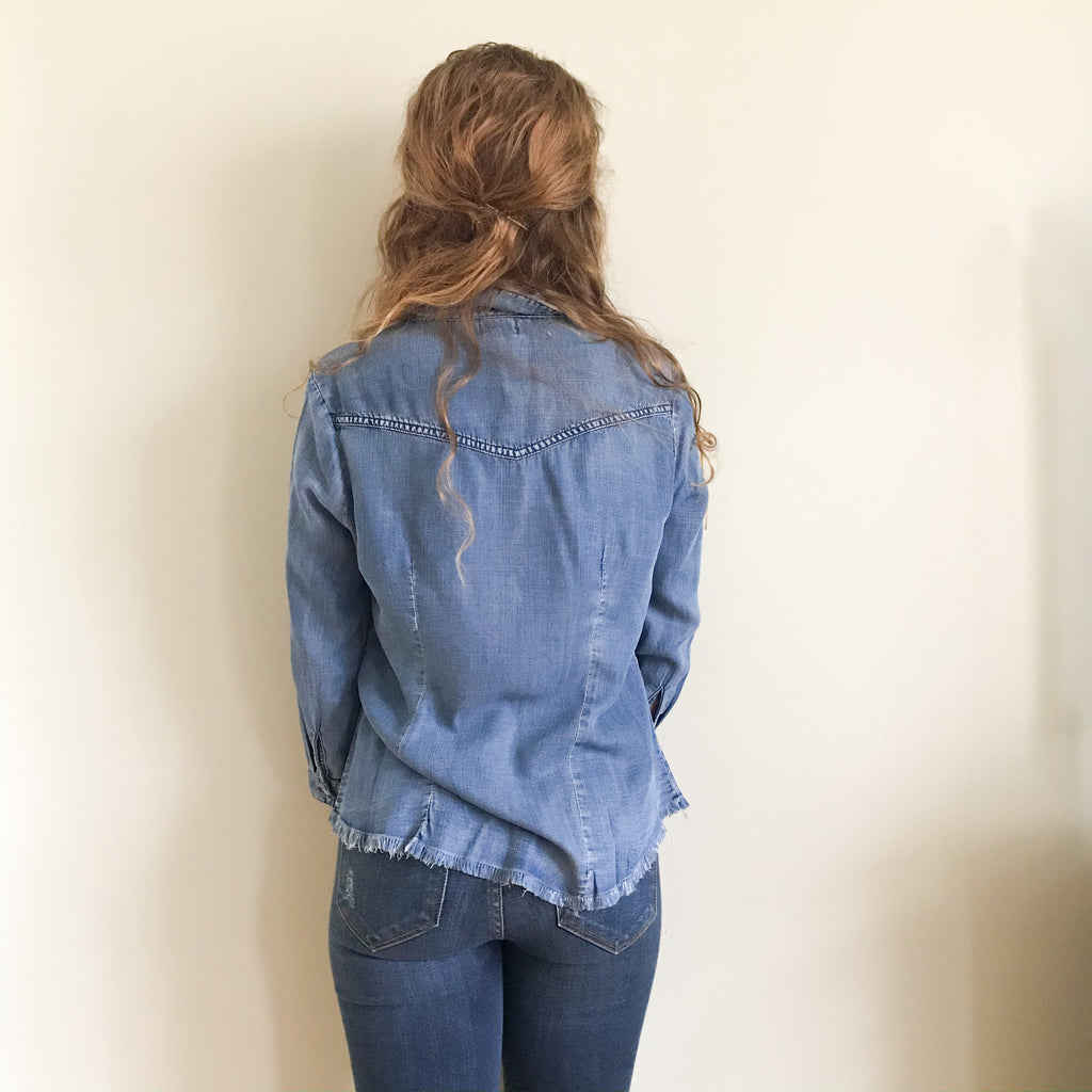 [restocked] Nell denim shirt