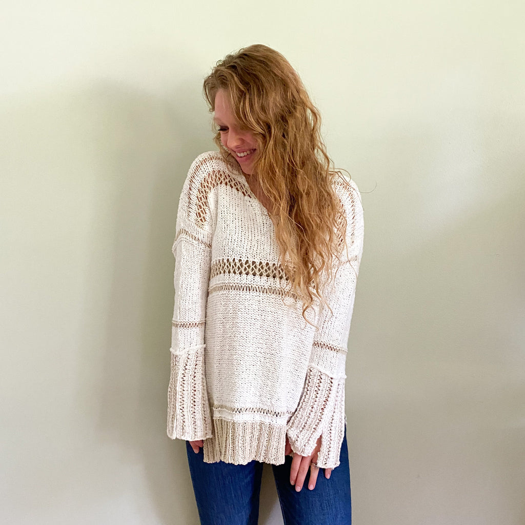 Dylan II sweater natural