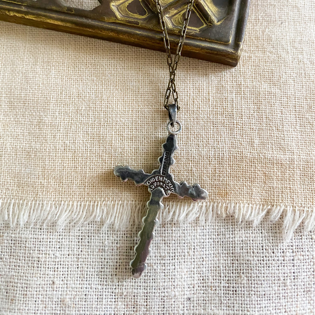 Wright cross necklace