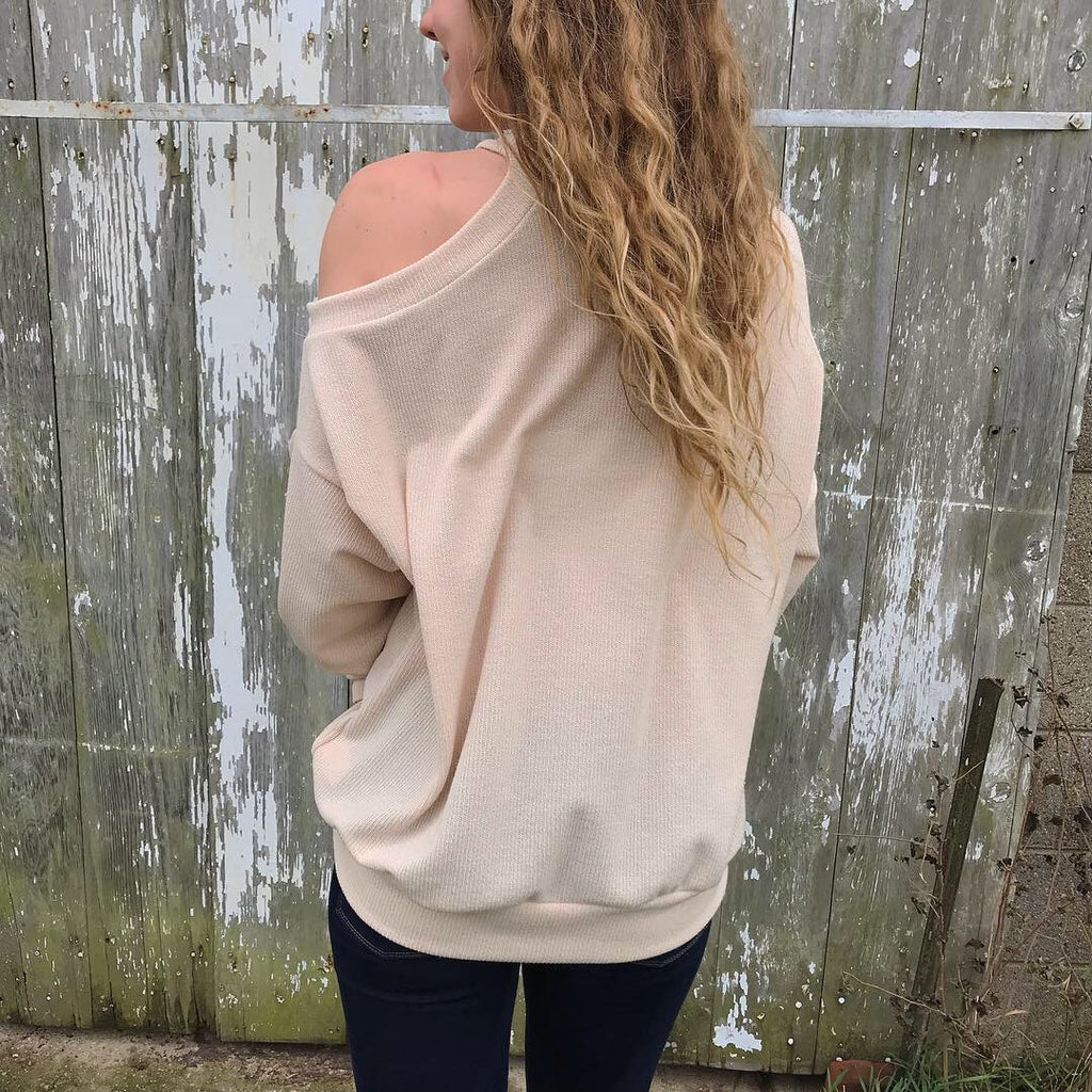 Frankie Cut-out Pullover