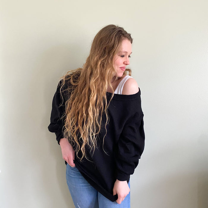 Free People OG long sleeve black