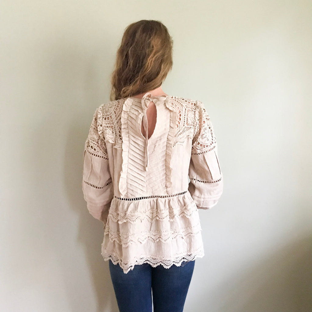 Wilda Romantic Lace Blouse