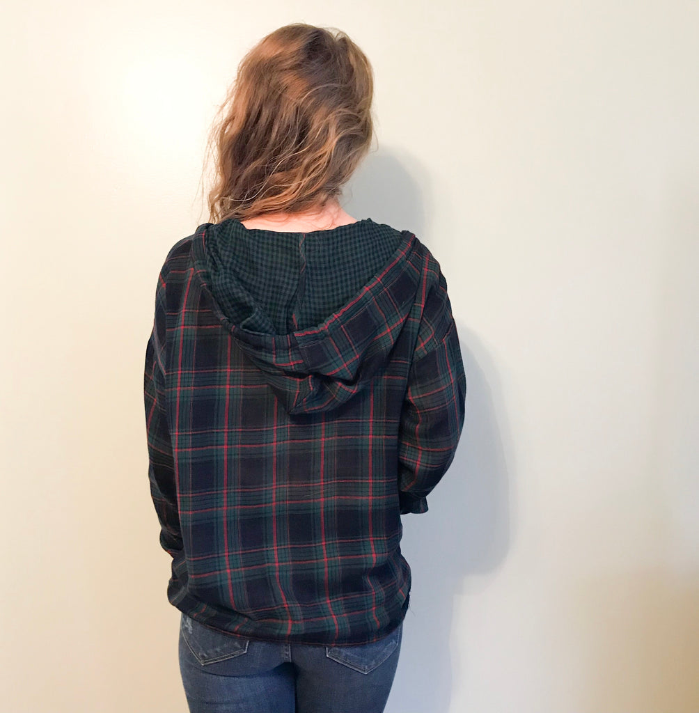 Eve plaid pullover