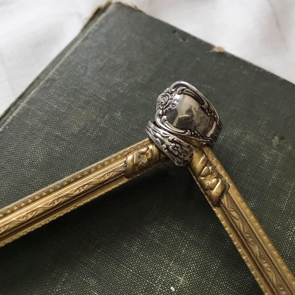 WM. A. Rogers Spoon Ring