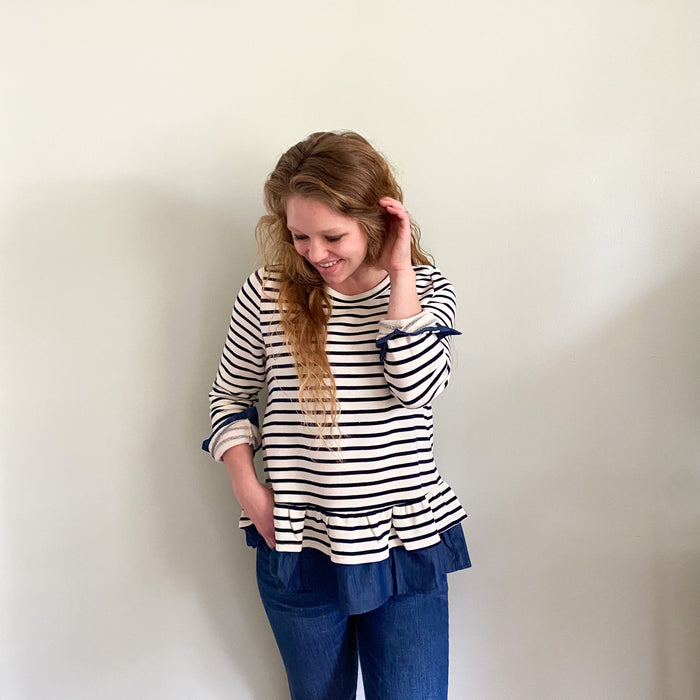 Walter striped blouse