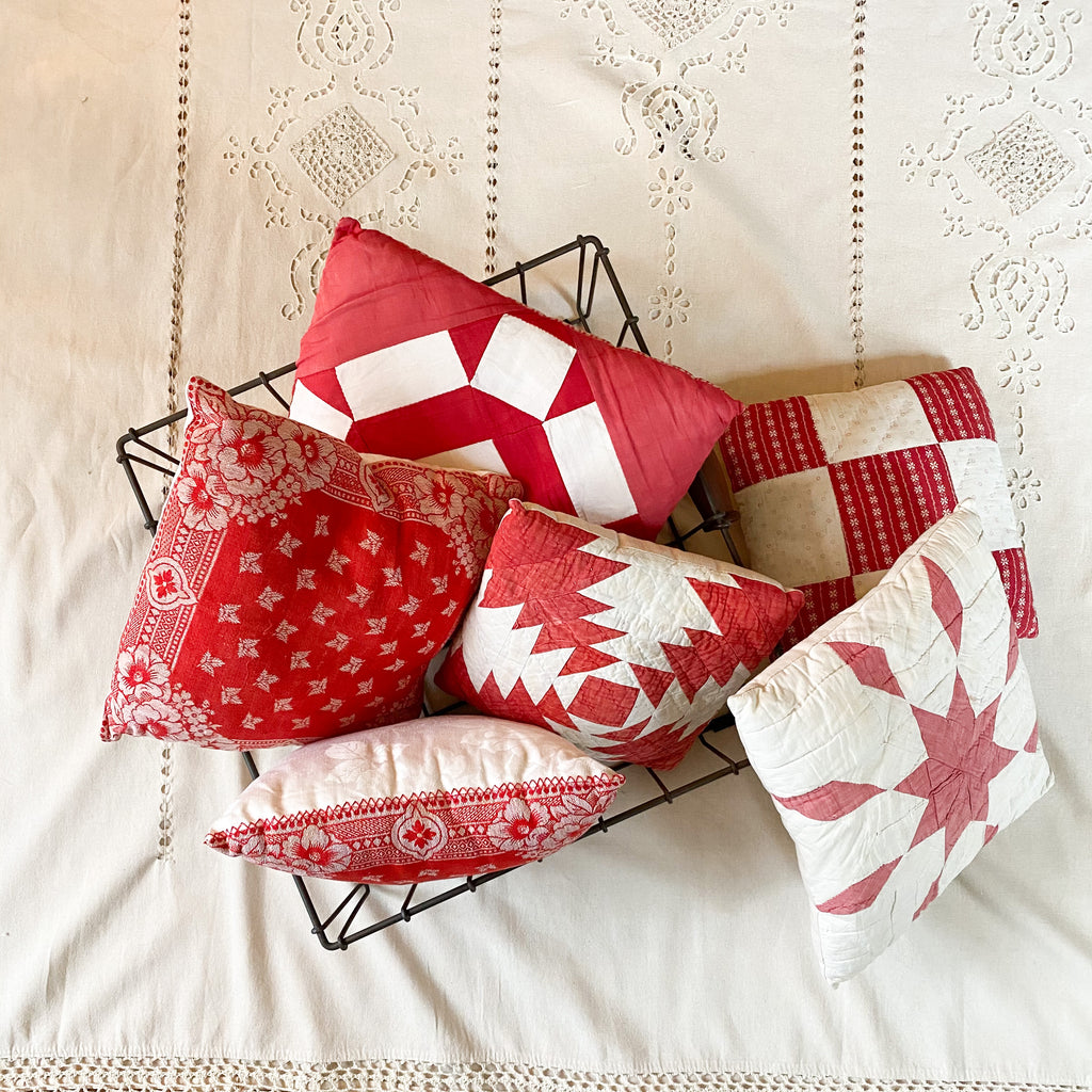 Vintage Holiday pillows