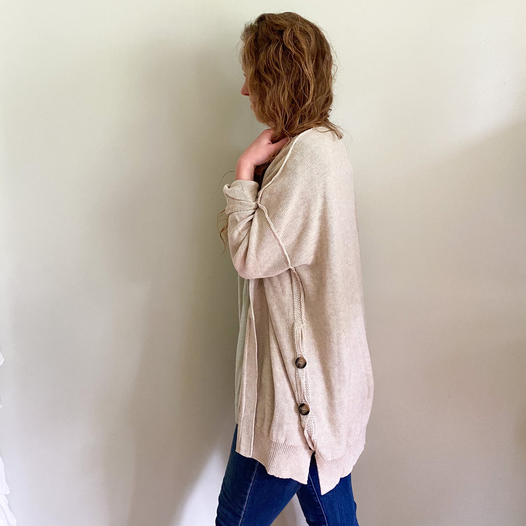 [IT'S BACK] Ryver button cardigan