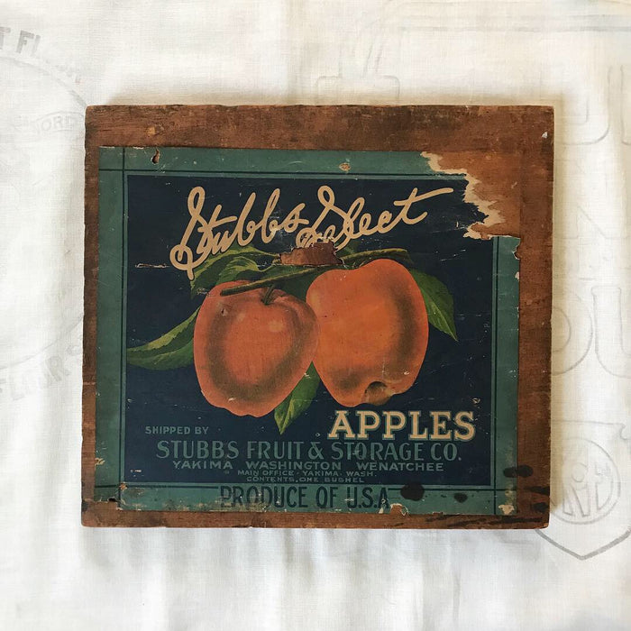 Stubbs Apple crate end