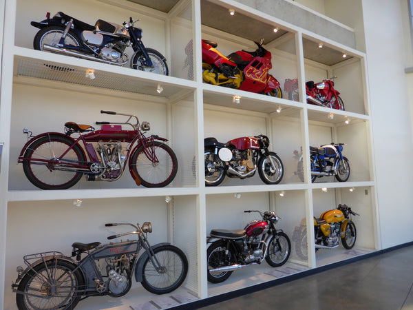 Barber Motorsport Museum USA (Matchless, Triumph, Harley, Ducati's)