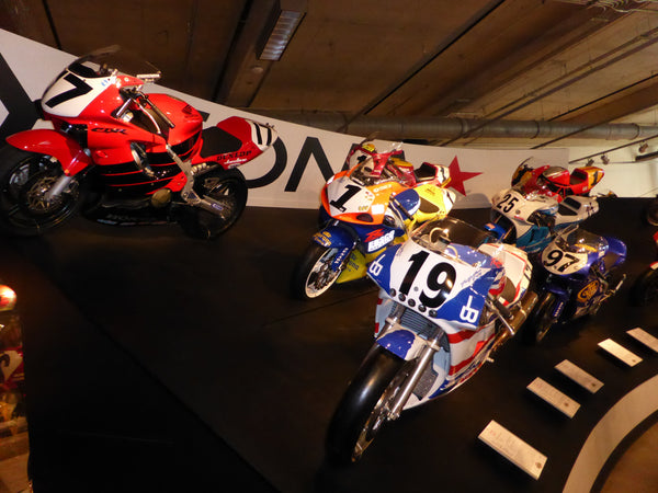 Barber Motorsport Museum USA AMA Superbikes of the Past