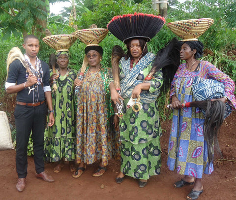 Bamileke fly whisk culture