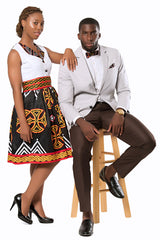 toghu african couple outfit